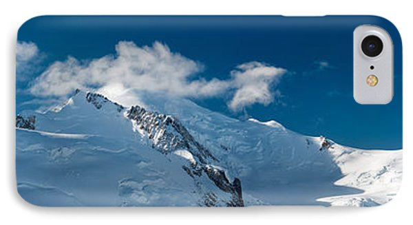 Mont Blanc Massiv IPhone Case by Juergen Klust