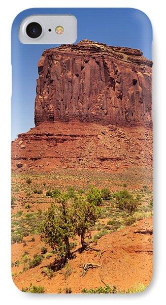 Monument Valley Merrick Butte IPhone Case by Melanie Viola