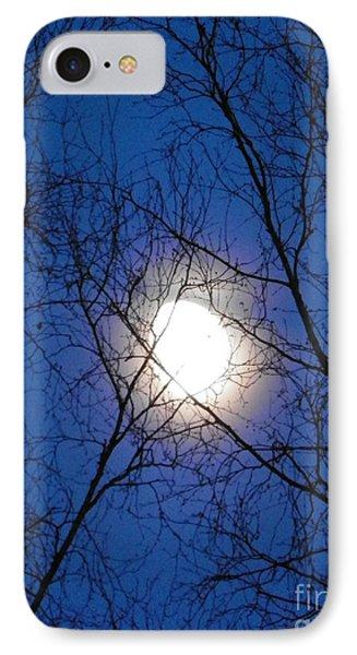 Moon Phone Case by Jennifer Kimberly