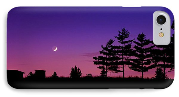 Moonset IPhone Case by Cale Best