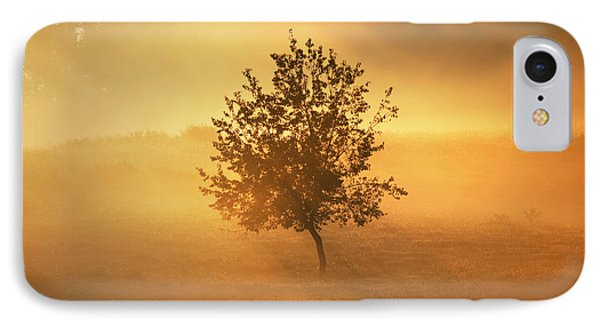 IPhone Case featuring the photograph Morning Fog by Linda Segerson