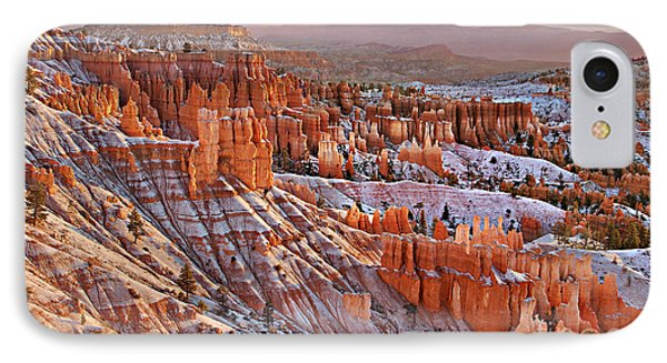 Morning Snow At Bryce IPhone Case