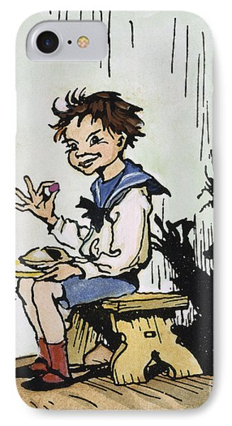 Mother Goose: Jack Horner Phone Case by Granger