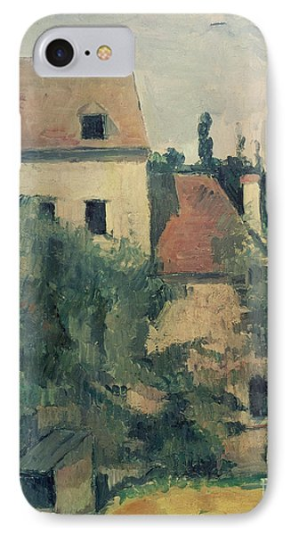 Moulin De La Couleuvre At Pontoise IPhone Case by Paul Cezanne