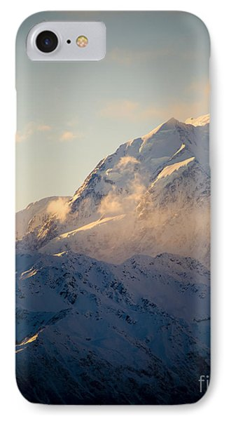 Mount Cook New Zeland Phone Case by Tim Hester