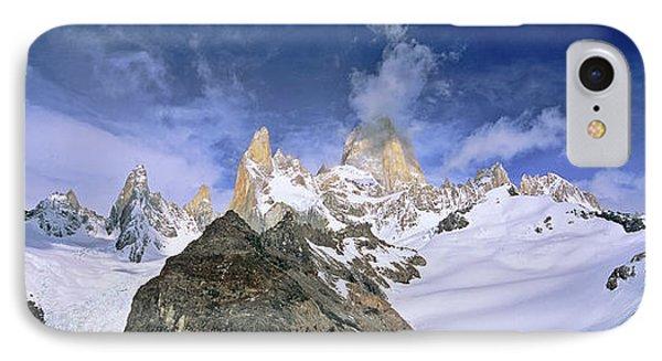 Mount Fitz Roy Seen From Laguna De Los IPhone Case