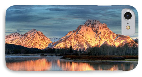 Mount Moran IPhone Case by Steve Stuller