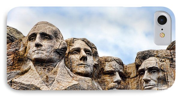 Mount Rushmore Monument IPhone 7 Case by Olivier Le Queinec