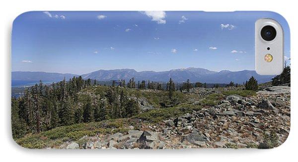 Mount Tallac Trailhead  IPhone Case by Gal Eitan