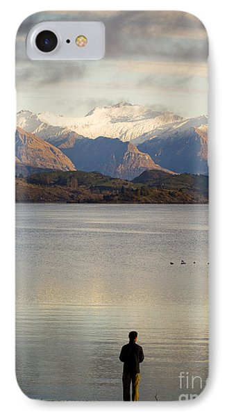 Mountain Dawn Phone Case by Tim Hester