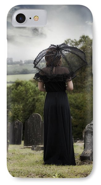 Mourning IPhone Case by Joana Kruse