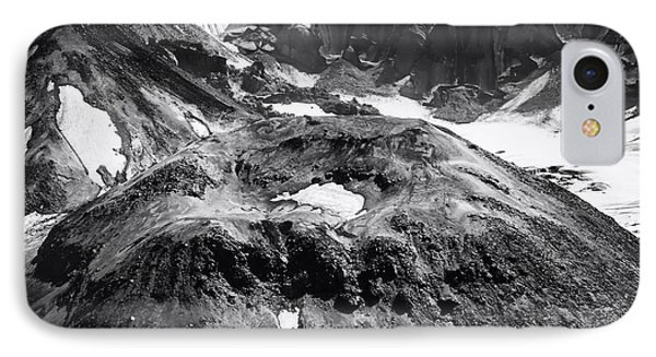 Mt St. Helen's Crater IPhone Case by David Millenheft