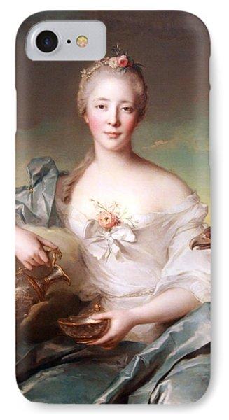 Nattier's Madame Le Fevre De Caumartin As Hebe IPhone Case