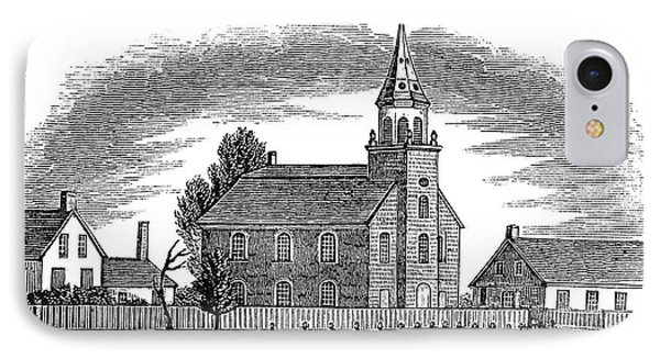 New Jersey Church, 1844 Phone Case by Granger