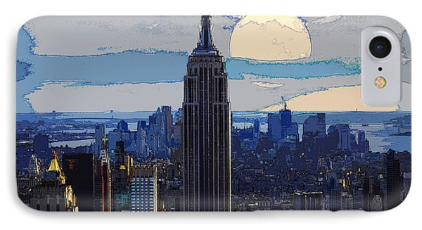 New York City IPhone Case by Celestial Images
