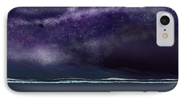 IPhone Case featuring the digital art Night Of A Thousand Stars by Anthony Fishburne
