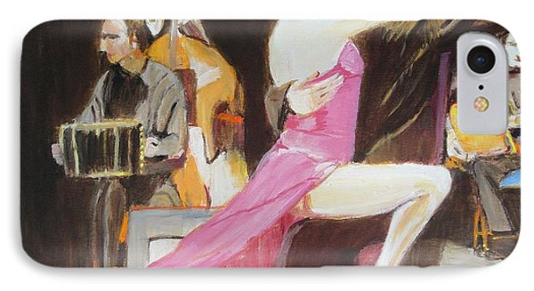 IPhone Case featuring the painting Night Rhythms by Judy Kay