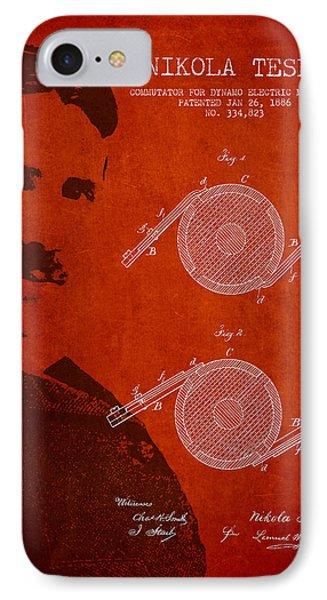 Nikola Tesla Patent From 1886 Phone Case by Aged Pixel