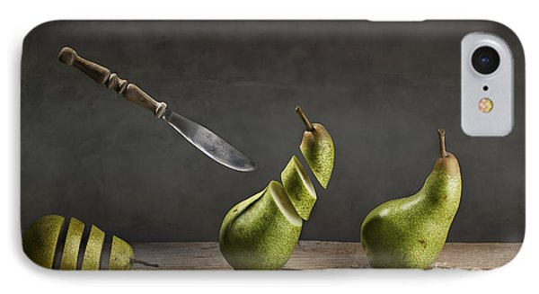 Pear iPhone 7 Case - No Escape by Nailia Schwarz