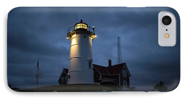 Nobska Lighthouse Phone Case by John Greim