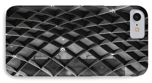 Nurb Skylight Structure IPhone Case by Lynn Palmer