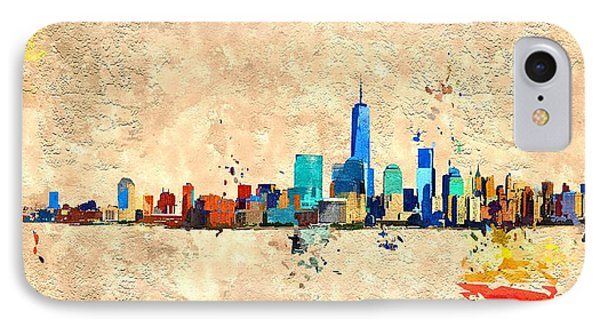Nyc Grunge IPhone Case by Daniel Janda