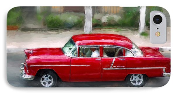 IPhone Case featuring the photograph Red Bel Air by Juan Carlos Ferro Duque