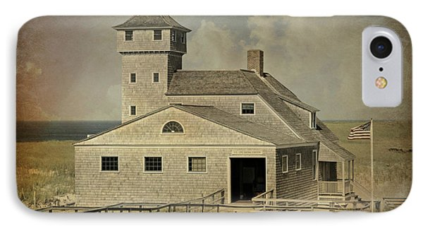 Old Harbor Lifesaving Station -- Cape Cod IPhone Case by Stephen Stookey