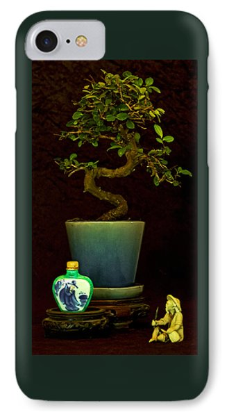 IPhone Case featuring the photograph Old Man And The Tree by Elf Evans