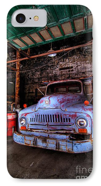 Old Pickup Truck Hdr Phone Case by Amy Cicconi