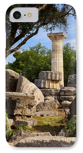 Olympia Ruins IPhone Case by Brian Jannsen