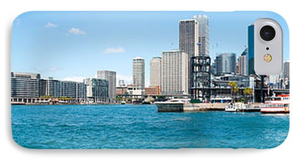 Opera House With City Skyline, Sydney IPhone Case by Panoramic Images