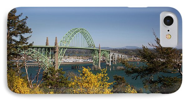 Or, Newport, Yaquina Bay Bridge IPhone Case by Jamie and Judy Wild