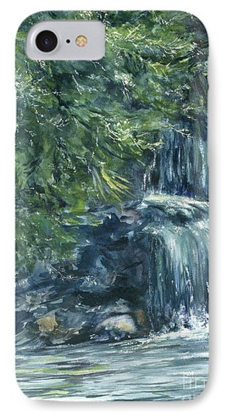 Oregon Waterfall IPhone Case by Lynne Wright