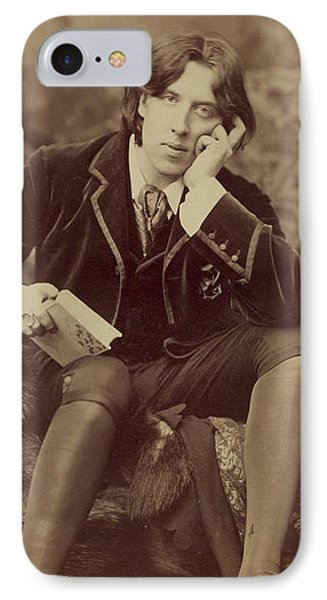 Oscar Wilde 1882 IPhone Case by Napoleon Sarony