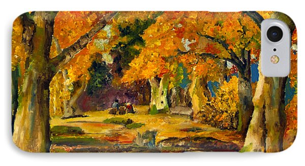 Our Place In The Woods IPhone Case by Mary Ellen Anderson