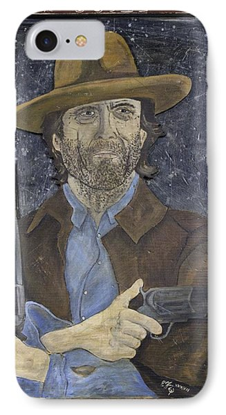 Outlaw Josey Wales IPhone Case by Eric Cunningham