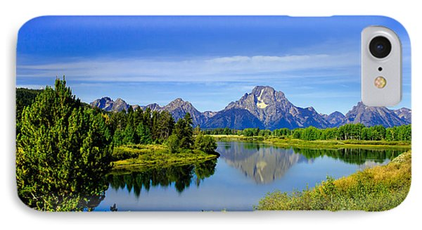 Oxbow Bend IPhone Case by Robert Bales