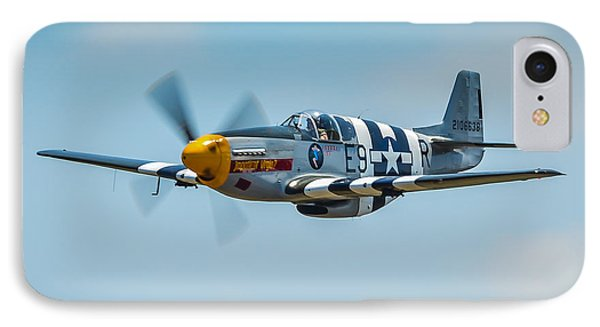 P-51 Mustang Phone Case by Puget  Exposure