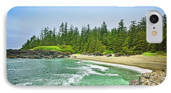 Pacific Ocean Coast On Vancouver Island IPhone Case