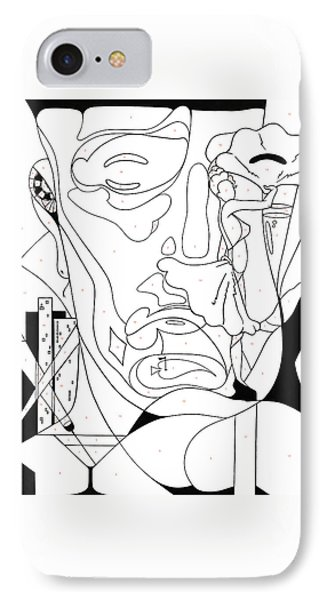 Paint By Number Las Vegas IPhone Case by Konni Jensen