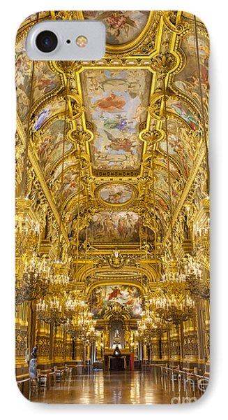 Palais Garnier Interior Phone Case by Brian Jannsen
