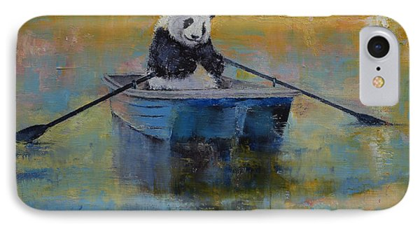 Panda Reflections IPhone Case by Michael Creese