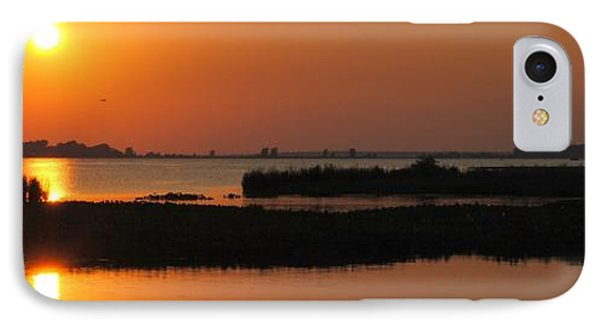 Panoramic Sunset Phone Case by Frozen in Time Fine Art Photography