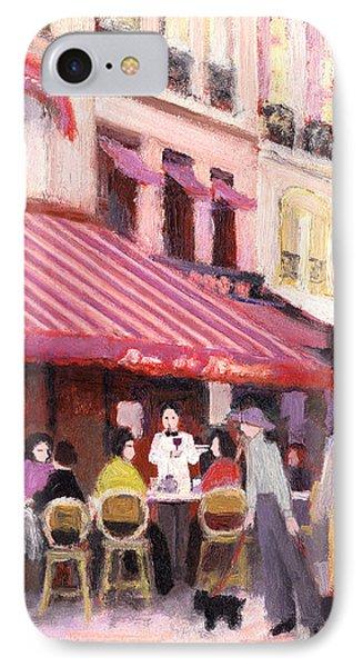 Paris Cafe Bar IPhone Case by J Reifsnyder