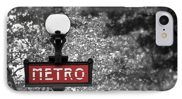 Paris Metro Phone Case by Elena Elisseeva