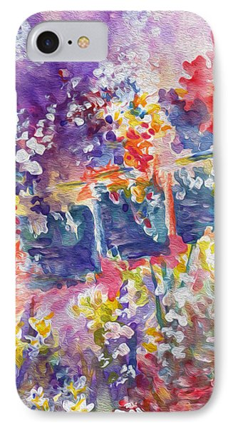 Parisian Floral IPhone Case by Kathy Bassett