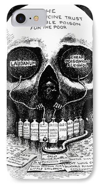 Patent Medicine Cartoon Phone Case by Granger
