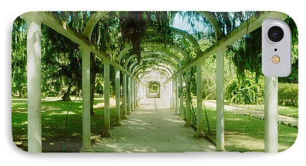 Pathway In A Botanical Garden, Jardim IPhone Case by Panoramic Images