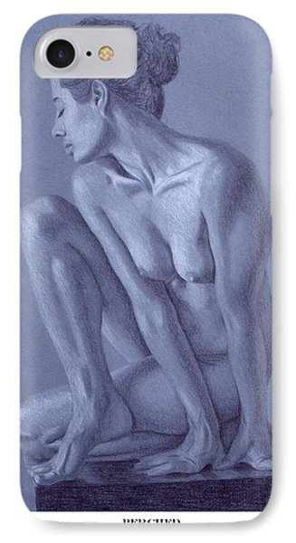 IPhone Case featuring the painting Perched  by Joseph Ogle